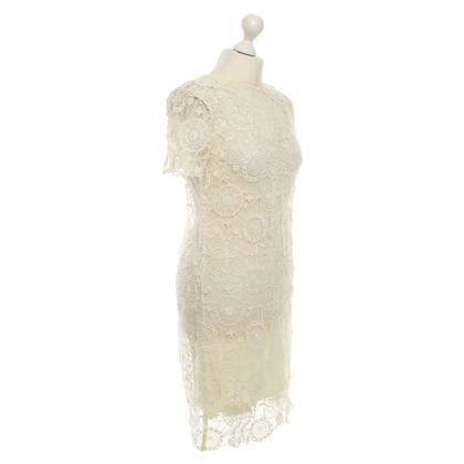Ralph Lauren Cremefarbenes Kleid