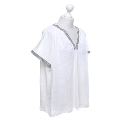 Closed Camicia di lino in bianco crema