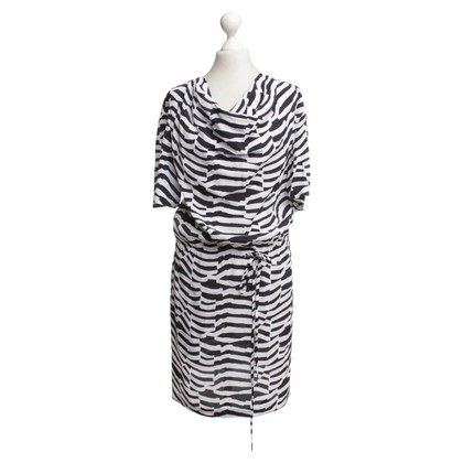 Armani Jeans Dress in black and white