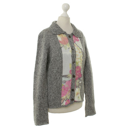 Marc Cain Cardigan with flowers pattern detail