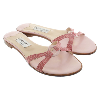 Jimmy Choo Sandalen in roze