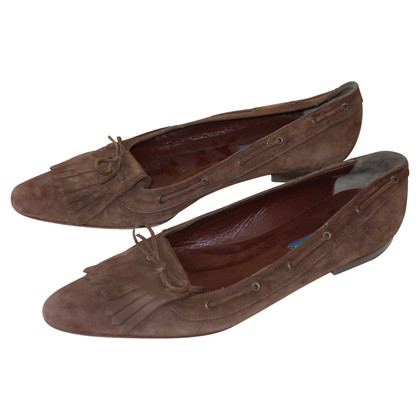 Ralph Lauren Slipper aus Wildleder