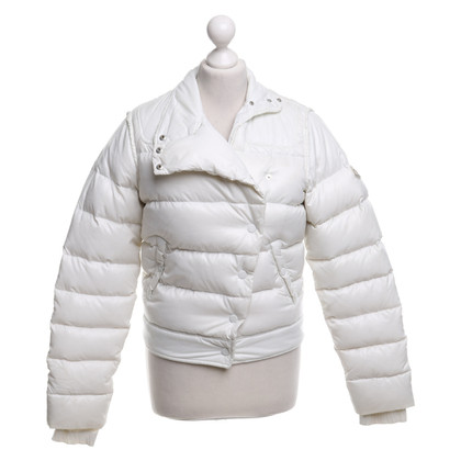Moncler Down jacket in white