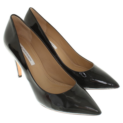 Diane von Furstenberg pumps in nero