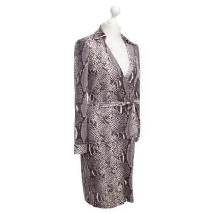 Diane von Furstenberg Wrap silk dress