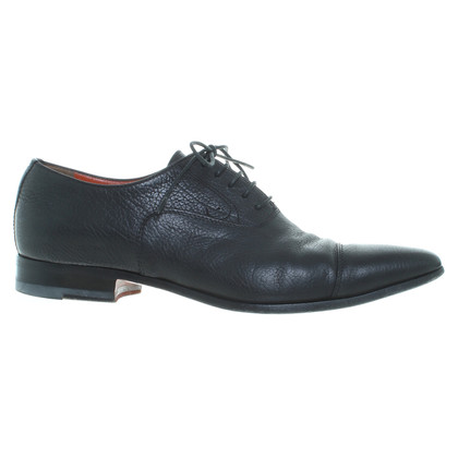 Santoni Lace-up shoes in black