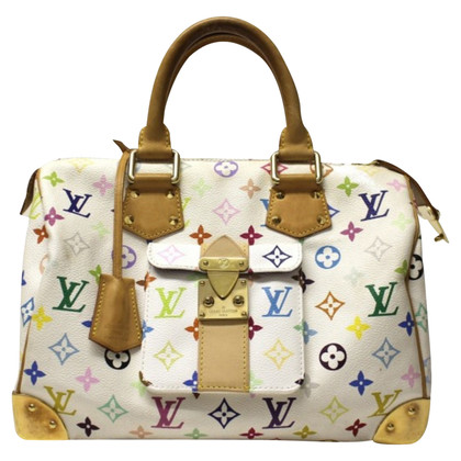 Louis Vuitton Speedy wit Multicolor