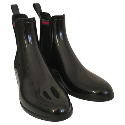 Gucci rubber boots