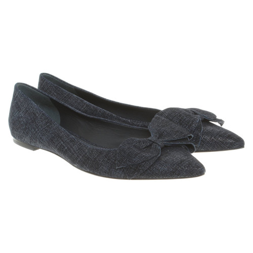 Tory Burch Ballerine in blu - Second hand Tory Burch Ballerine in ... c0b345a65d50