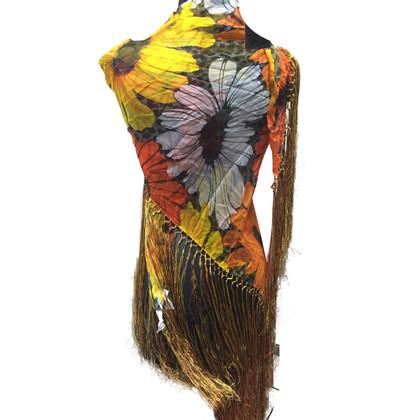 Dolce & Gabbana Schal mit Blumenmuster