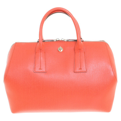 "Furla ""Papermoon"" in oranjerood"
