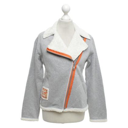 La Perla Sweaterjack met nepbont-afwerking
