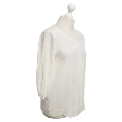 DKNY Silk blouse in cream