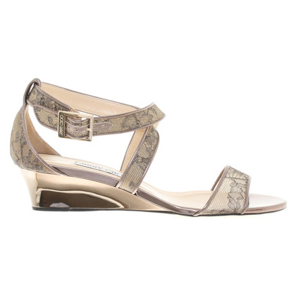 Jimmy Choo Wedges in copper
