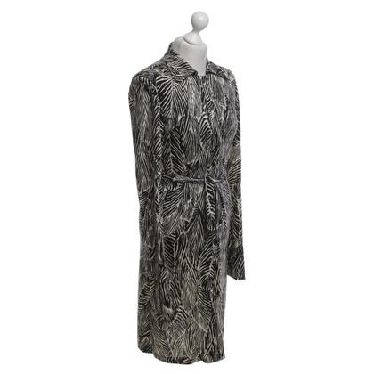 Diane von Furstenberg Kleid in Schwarz/Beige