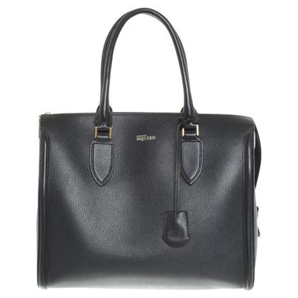"Alexander McQueen ""Heroine Bag"" in dark blue"