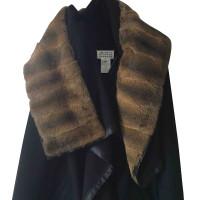 Maison Martin Margiela Coat with fur collar