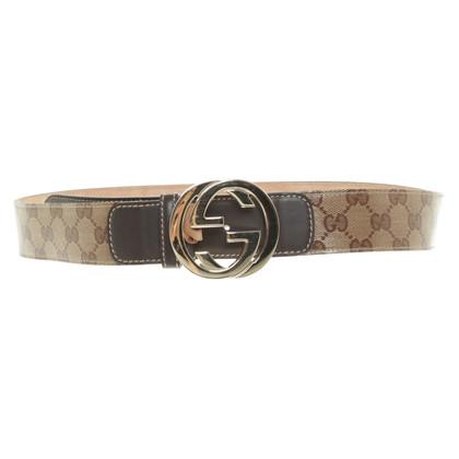 Gucci Belt with Guccissima motif