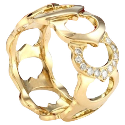 Cartier Goldring mit Diamanten