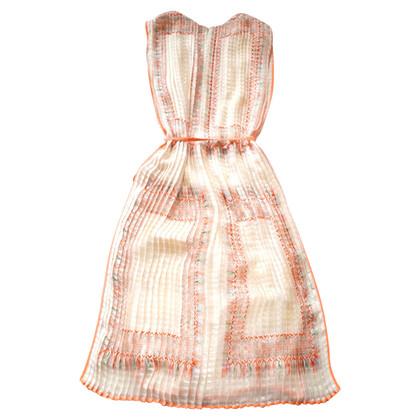 Chloé zijden jurk met patroon