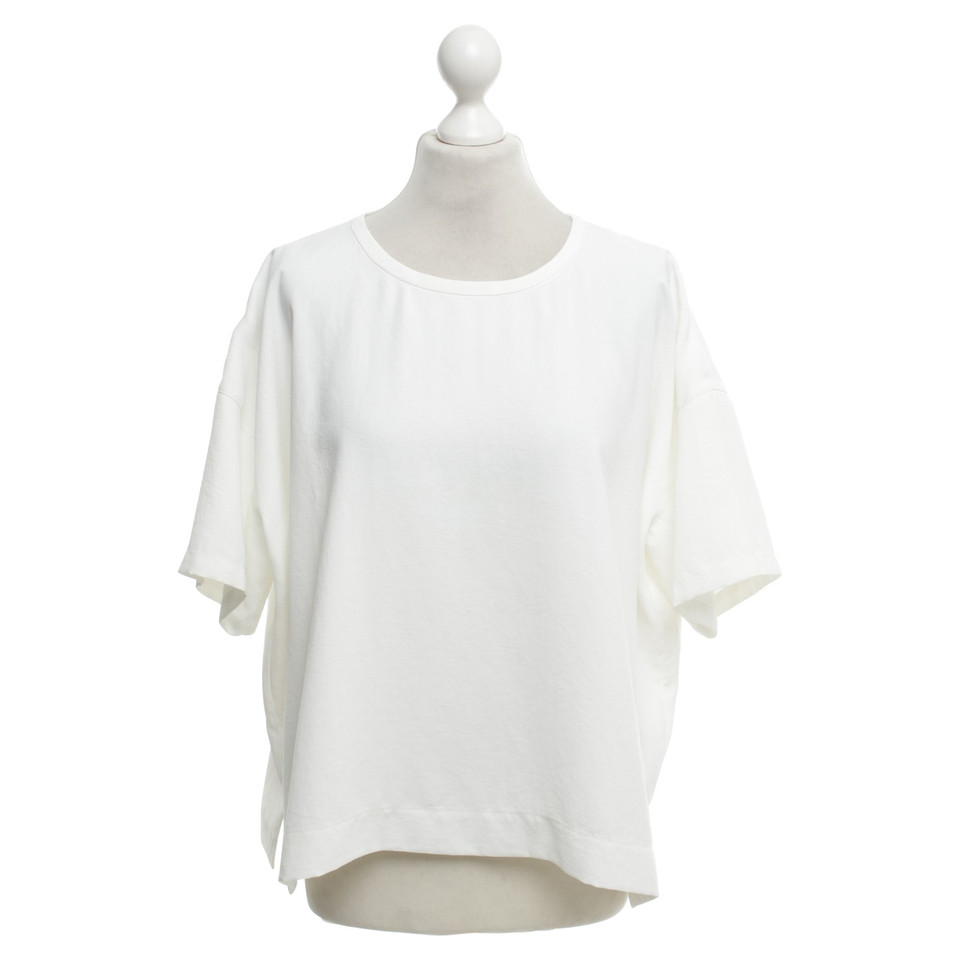 Vince Boxy-Shirt in Weiß