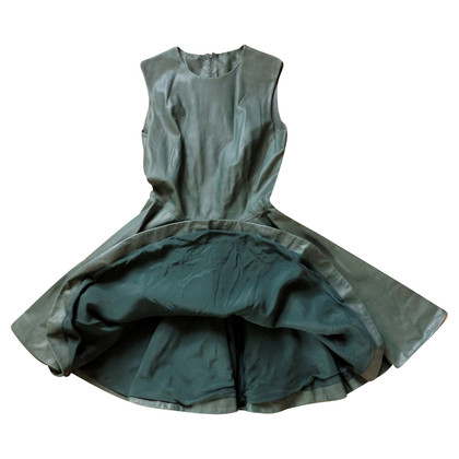 Alexander McQueen  Leather Dress