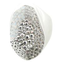 Swarovski Ring with Swarovski crystals