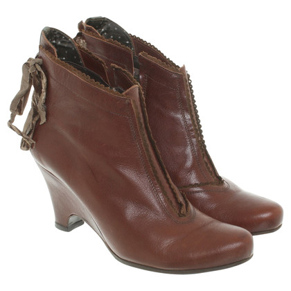Hugo Boss Ankle boots with wedge heel