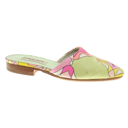 Emilio Pucci Sandals in floral pattern