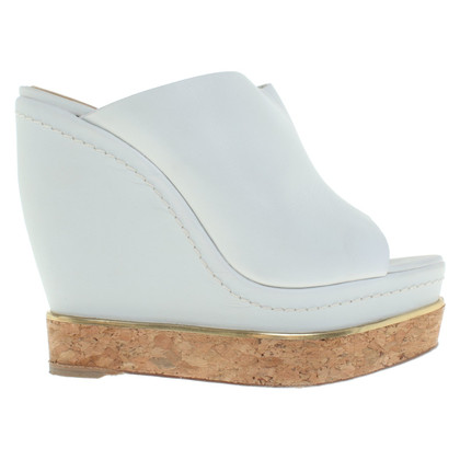 Paloma Barcelo Wedges in lichtblauw