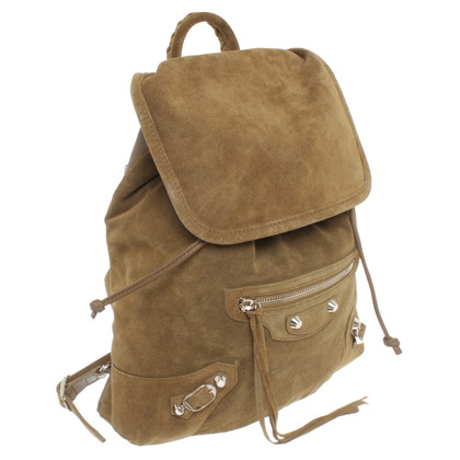 Balenciaga Suede backpack