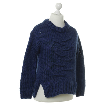 Schumacher Blue knit pullover
