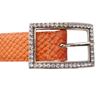 Other Designer Jake's - Belt with rhinestone buckle