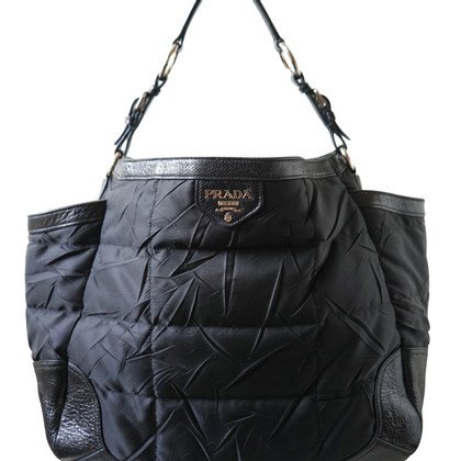 Prada Leather and nylon bag