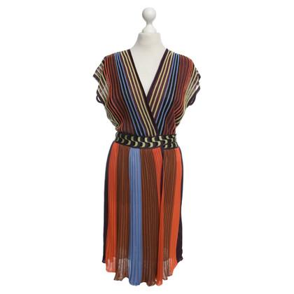 Missoni Colorful wrap dress