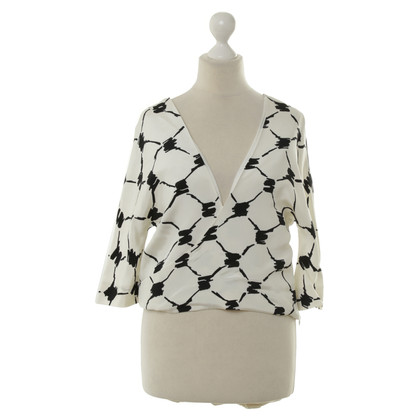 Balenciaga Silk top with pattern