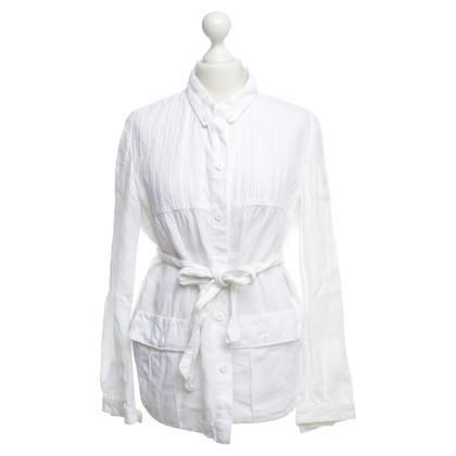 Armani Camicia giacca in lino