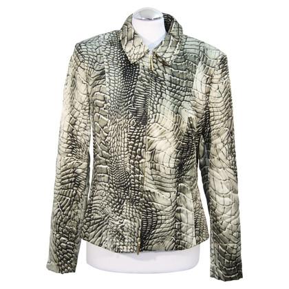 Basler Zijden jas met patroon