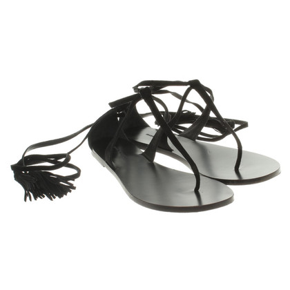 Isabel Marant sandali Lace-up in nero