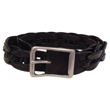 Ralph Lauren Braided leather belt