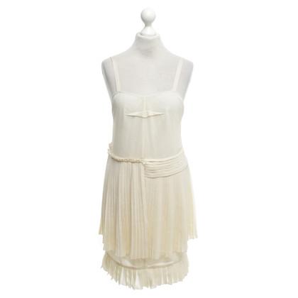 See by Chloé robe ludique en crème blanche