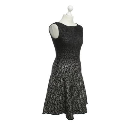Prada Kleid in Schwarz/Weiß