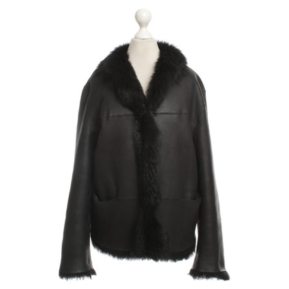 St. Emile Reversible Jacket with lambskin