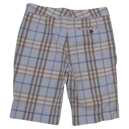 Burberry Checkered shorts