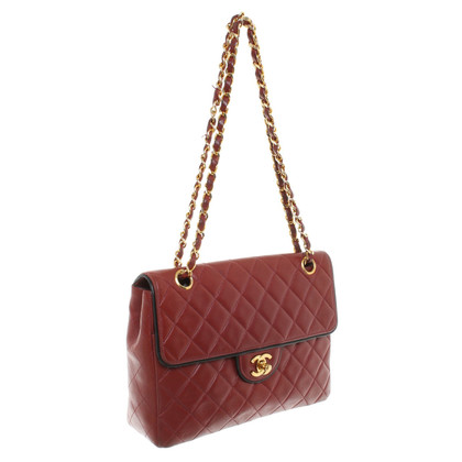 "Chanel ""Classic Flap Bag"" in Bordeaux"