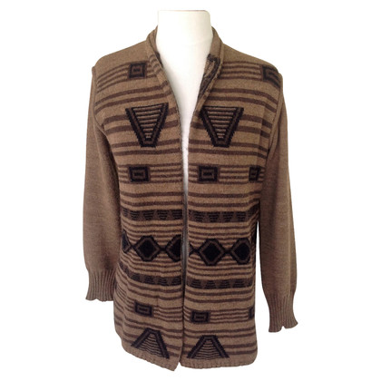 Max Mara Strickjacke in Braun
