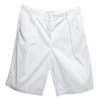 Fabiana Filippi Cream-colored shorts