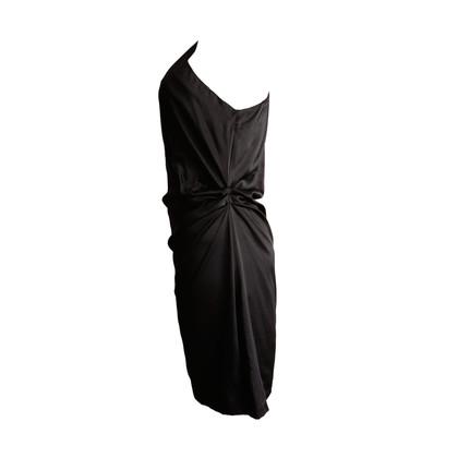 Diane von Furstenberg one shoulder dress in black