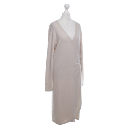 Allude Cashmere Dress in Beige