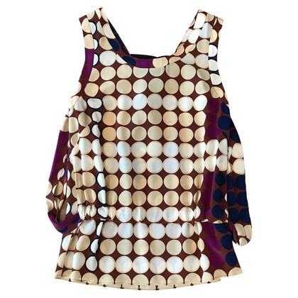 Marni for H&M Top en soie avec motif